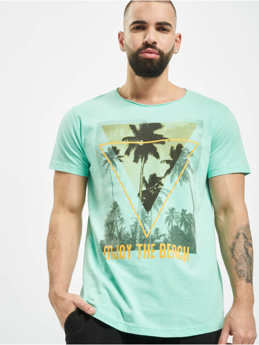 Sublevel T-Shirt Enjoy turquoise