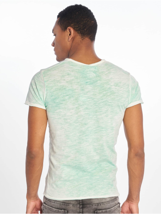 Sublevel T-shirt Flecked verde