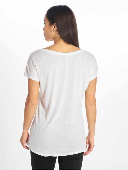 Sublevel T-Shirt Cut on Sleeves weiß