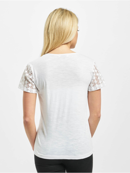 Sublevel T-Shirt Lace weiß