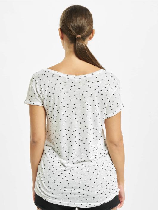 Sublevel T-Shirt Allover weiß
