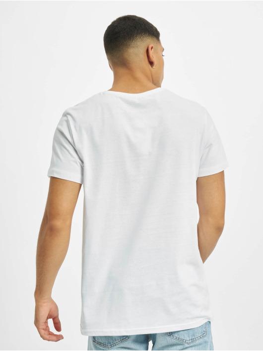 Sublevel T-Shirt Big City weiß