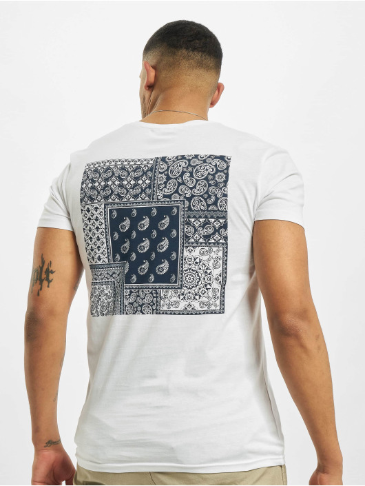 Sublevel T-Shirt Paisley weiß