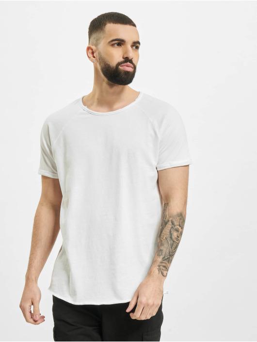 Sublevel T-Shirt Raglan weiß