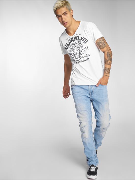 Sublevel T-Shirt Tiger Kingdom white