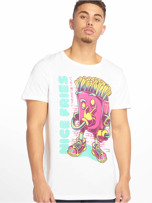 Sublevel t-shirt Roundneck wit