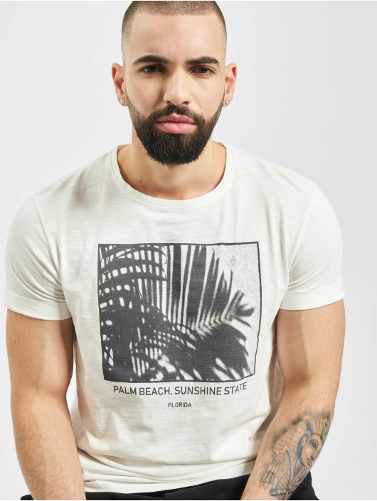 Sublevel t-shirt Palm Beach wit