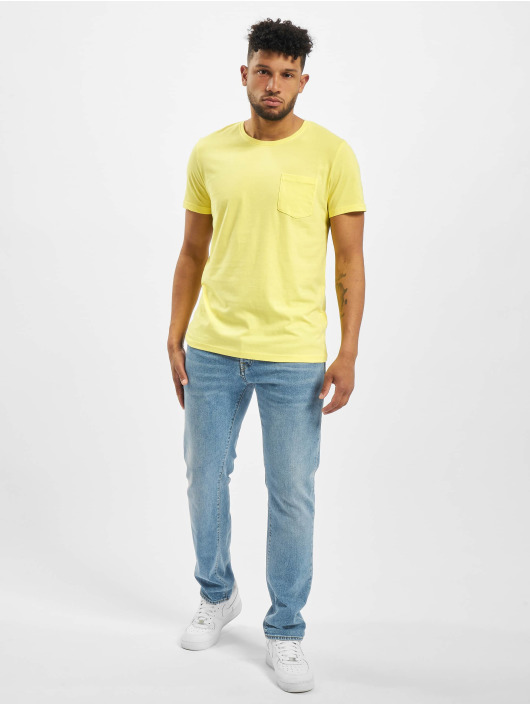 Sublevel T-Shirt Neal yellow