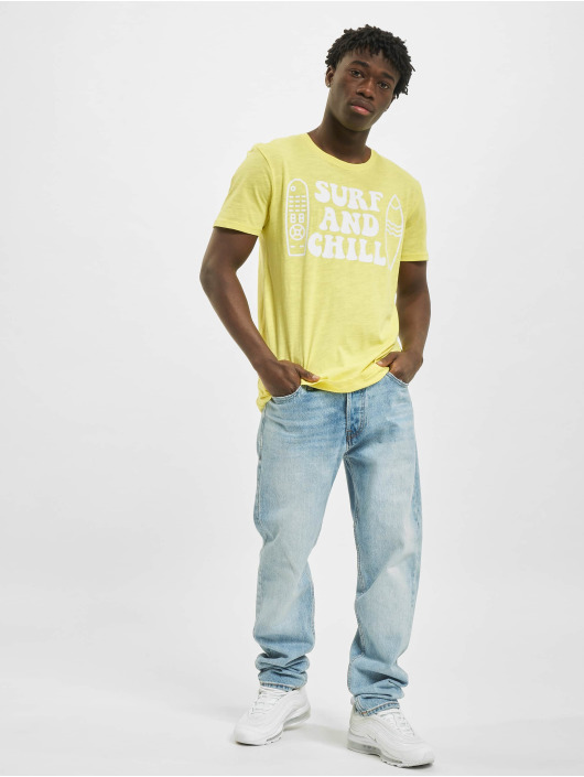Sublevel T-Shirt Surf yellow