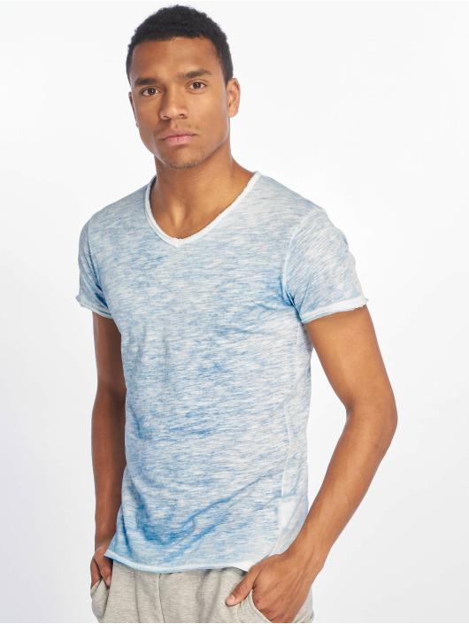 Sublevel T-shirts Flecked blå