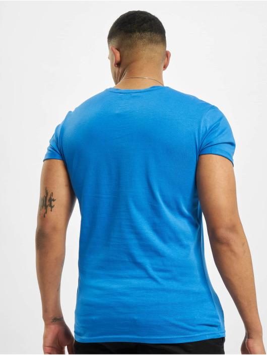 Sublevel T-shirts Easy Mind blå