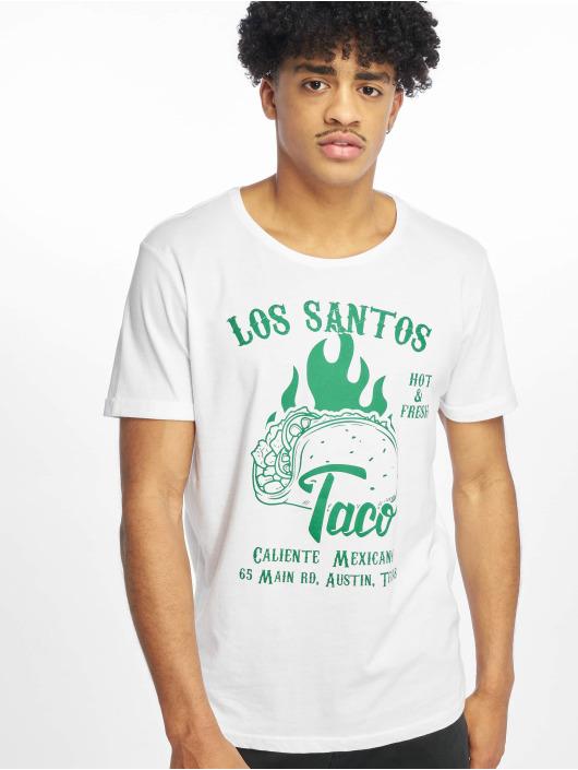 Sublevel T-shirts Chang hvid