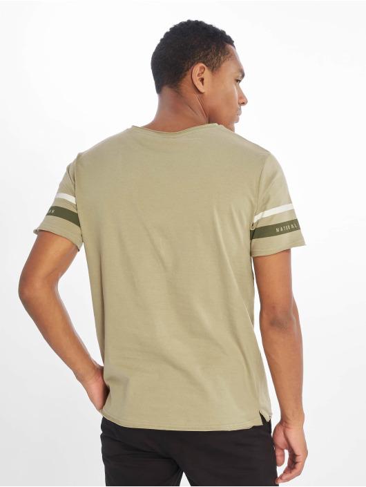 Sublevel T-shirts Haka oliven