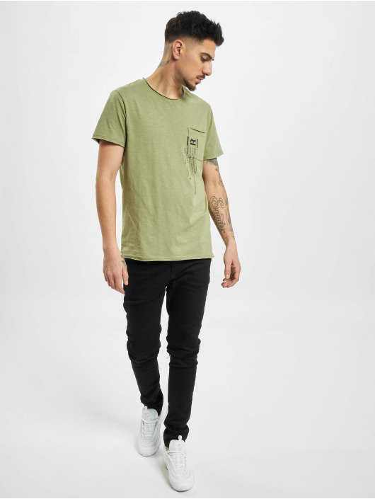 Sublevel T-shirts Lio oliven