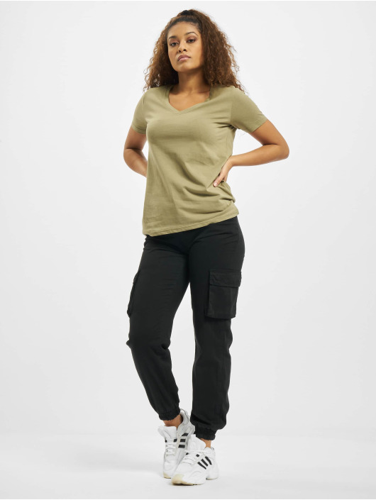 Sublevel T-shirts Elisa oliven
