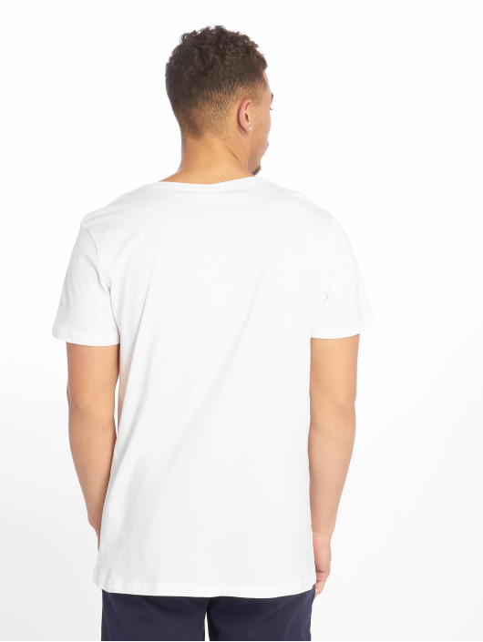 Sublevel T-Shirty Roundneck bialy