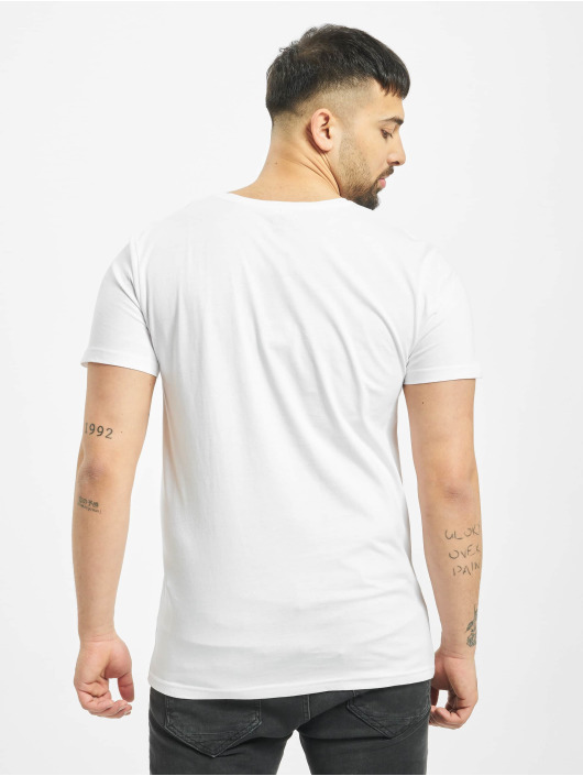 Sublevel T-Shirty Pocket bialy