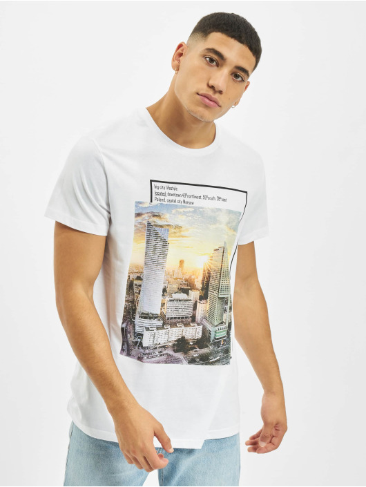 Sublevel T-Shirty Big City bialy