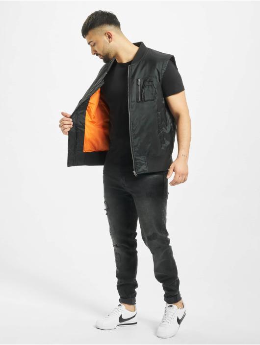 Sublevel T-Shirty Pocket czarny
