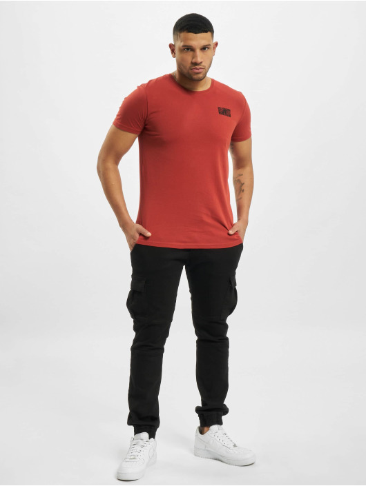 Sublevel T-Shirty Paisley czerwony