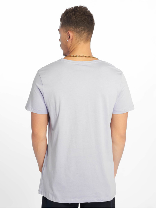 Sublevel T-Shirty Roundneck fioletowy