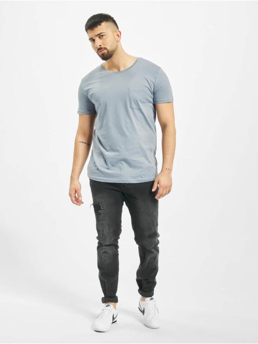 Sublevel T-Shirty Pocket niebieski