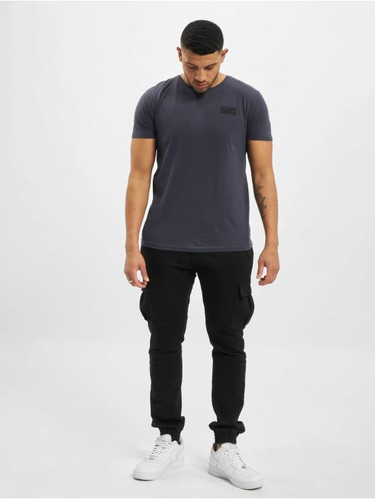Sublevel T-Shirty Paisley niebieski