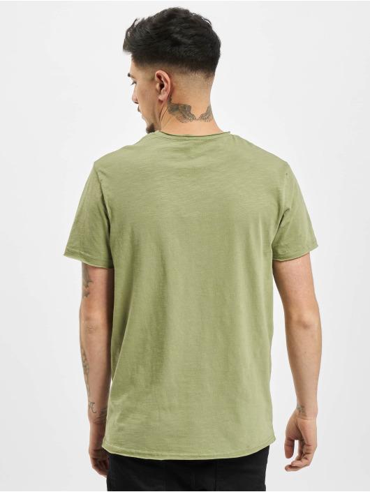 Sublevel T-Shirty Lio oliwkowy