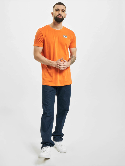 Sublevel T-Shirty Catch The Vibes pomaranczowy