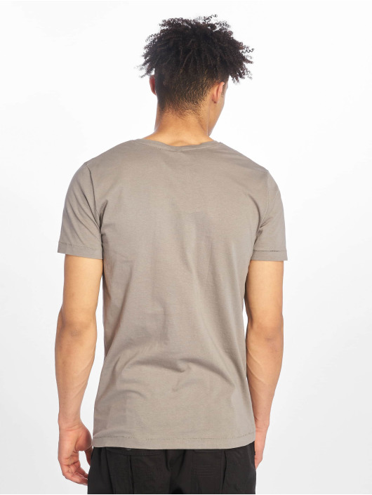 Sublevel T-Shirty Roundneck szary