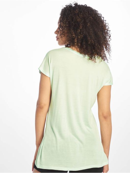 Sublevel T-Shirty Cut on Sleeves turkusowy