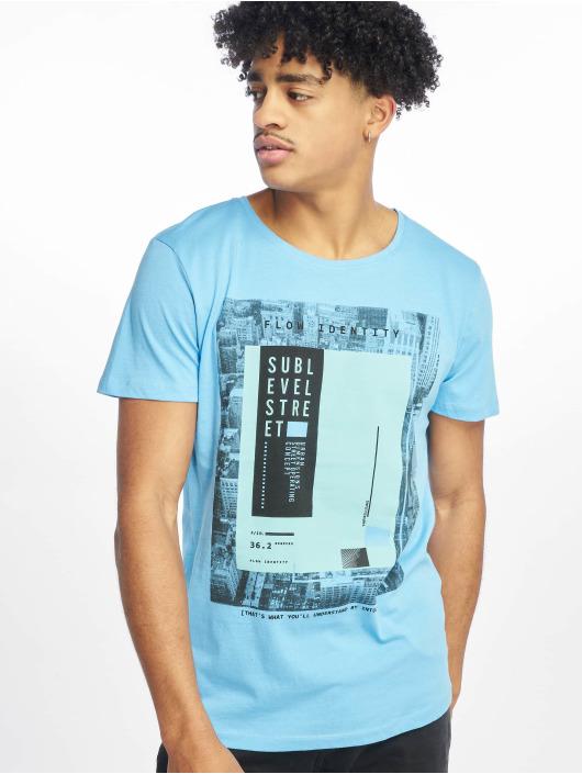 Sublevel T-skjorter Flow Identity blå
