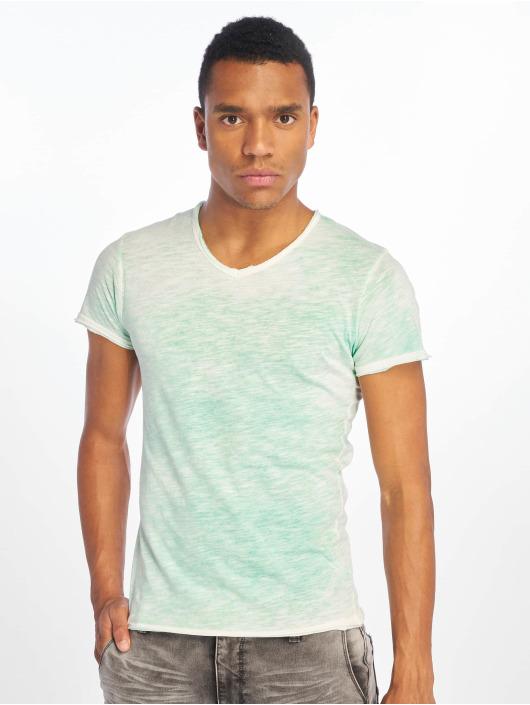 Sublevel T-skjorter Flecked grøn