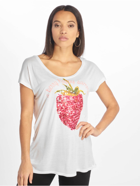 Sublevel T-skjorter Cut on Sleeves hvit