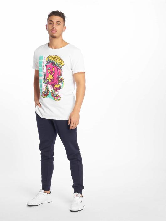 Sublevel T-skjorter Roundneck hvit