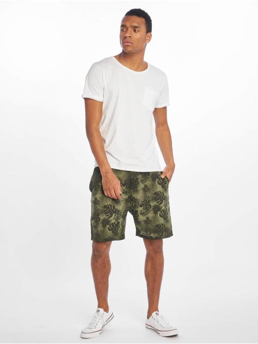 Sublevel T-skjorter Good Vibes hvit