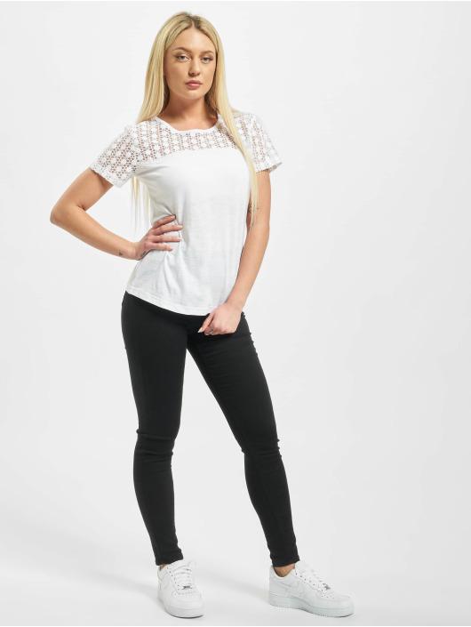 Sublevel T-skjorter Lace hvit