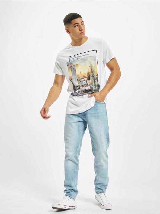Sublevel T-skjorter Big City hvit