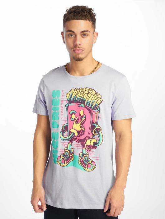 Sublevel T-skjorter Roundneck lilla