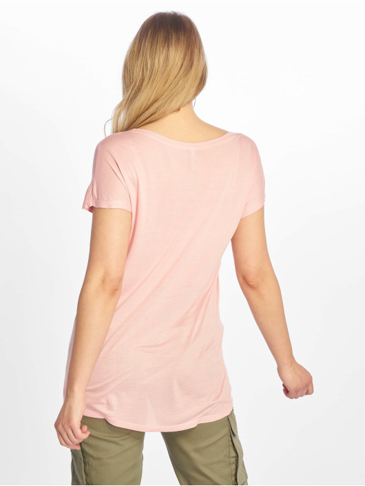 Sublevel T-skjorter Cut on Sleeves rosa