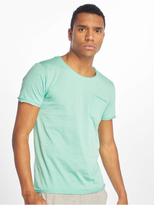 Sublevel T-skjorter Good Vibes turkis
