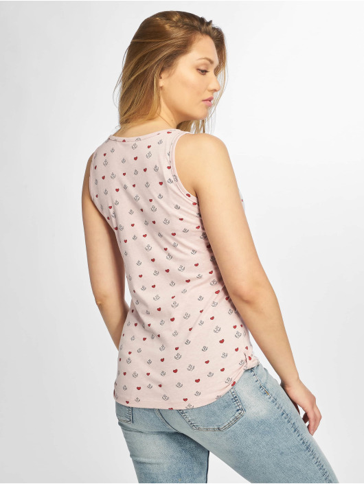 Sublevel Tops sans manche Anchor rose