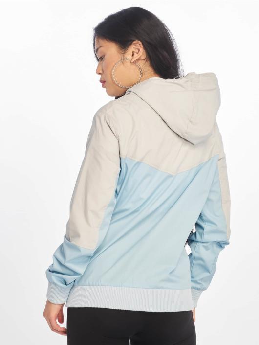 Sublevel Transitional Jackets ColorBlock blå