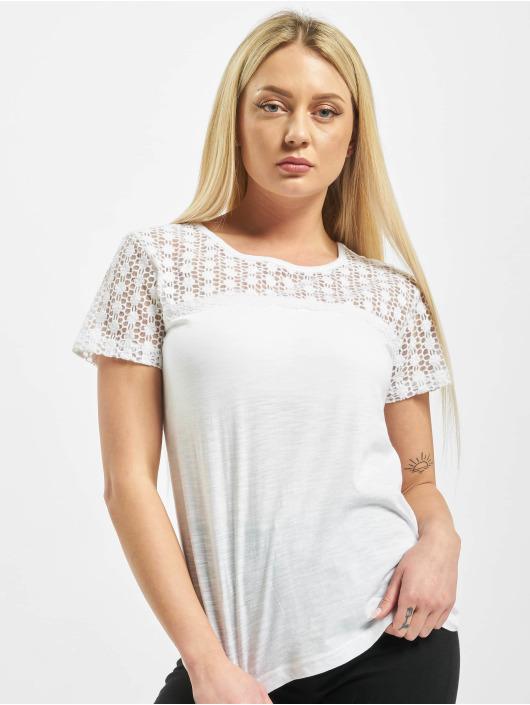 Sublevel Tričká Lace biela