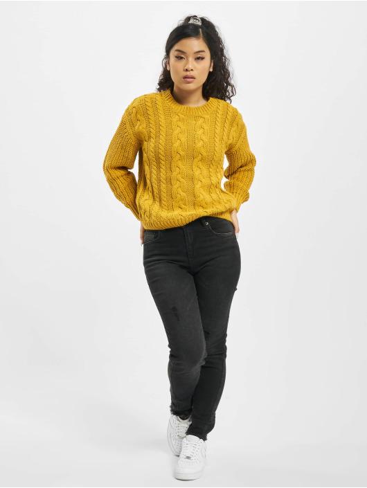 Sublevel Tröja Knit gul