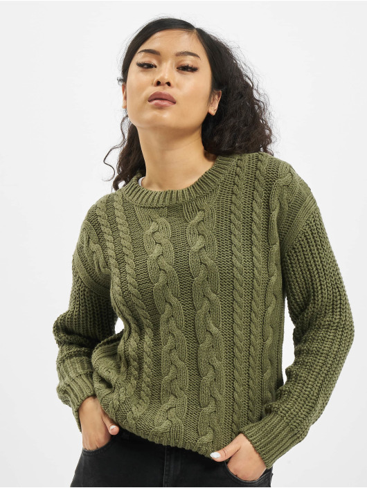 Sublevel trui Knit groen