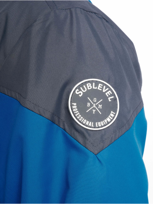 Sublevel Übergangsjacke Haka Colourblock blau