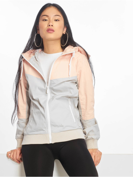 Sublevel Übergangsjacke ColorBlock grau