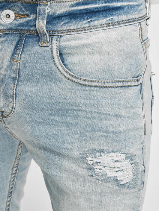 Sublevel Vaqueros pitillos 5-Pocket azul