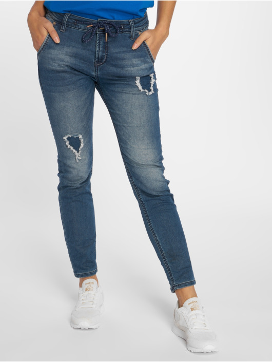 Sublevel Verryttelyhousut Denim Jogger Pants sininen